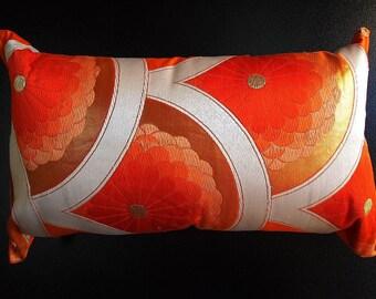 Cushion of Obi (Kimono) Japanese Silk  0000083