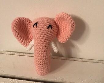 Toy elephant pink
