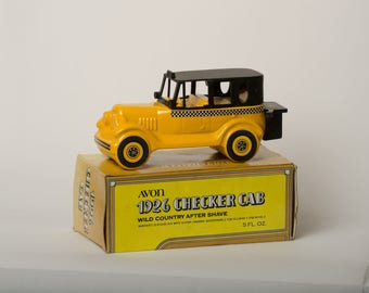 Avon Wild Country After Shave in Taxi Cab