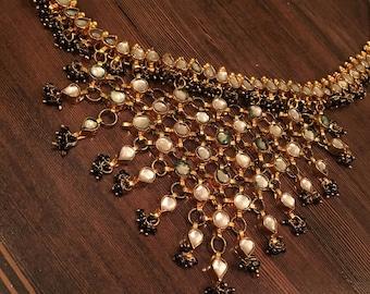 Unique Vintage Necklace Adjustable Length