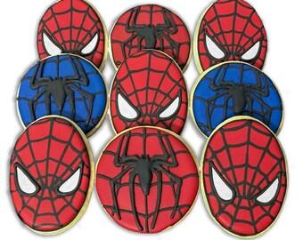 Spiderman Cookie Set - 2 Dozen