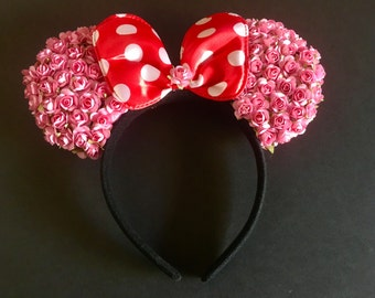 Minnie Mouse ears, party favors, costumes.