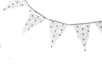 Garland - Tiny Gray Dots