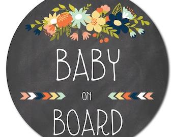 Baby on Board sticker / baby on board sticker
