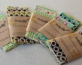Organic Beeswax food wrap - Pack of 5