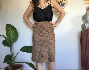 Tartan pencil skirt, 90s, Clueless