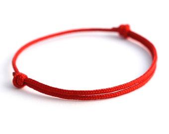 KOMIMAR discreet surfer bracelet REDHOT - Bangle - Friendship Bracelet - bracelet - Friendship Bracelet