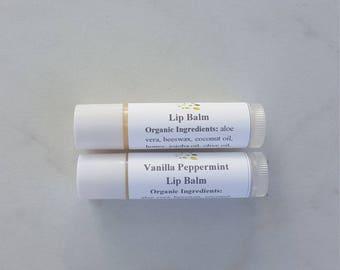 All Natural Lip Balm, Organic Chapstick, 3 Lip Balm Natural, Organic Lip Balm, Shea Butter Lip Balm, Aloe Lip Balm, Lip Balm Gift Set