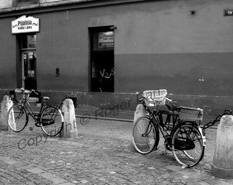 Digital Download, 'Tomasza Street', black and white photography by Roger Pan