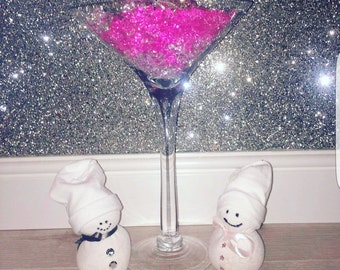 Handmade Christmas Snowmen Decorations - Handmade Snowmen - Cute Snowmen- Half Charity Donations