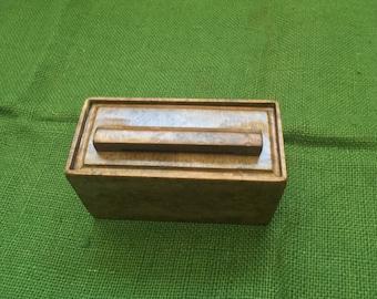 Birdseye Maple keepsake/ stash box