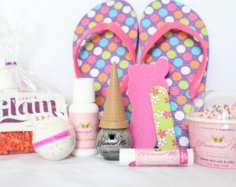 Spa Party Kit - #UltimateGlam Spa Kit -DIY Spa Kit- Spa Party Favor-Girls Spa Party-Spa Birthday-Spa Favors-Kids Spa Party-Bath Bomb-Spa-DIY