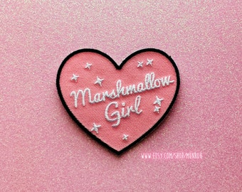 Marshmallow Girl Patch