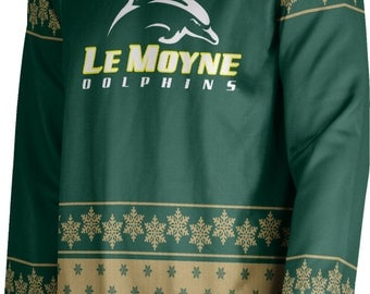 ProSphere Adult Le Moyne College Ugly Holiday Snowflake Sweater