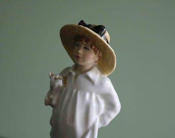 Rare James HN3013 – Royal Doulton Kate Greenaway Figurine