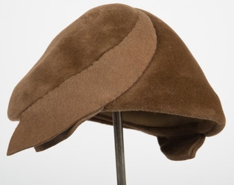 1950's brown felt hat