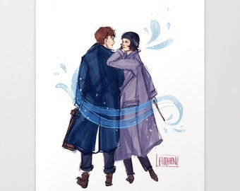 """Shop """"fantastic beasts and where to find them"""" in Drawing & Illustration"""