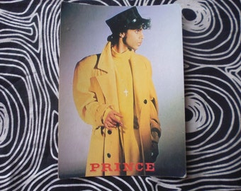 Prince vtg postcard 80's vgc
