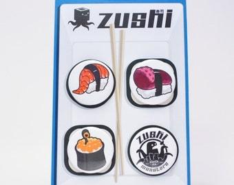 Zushi Button Pin Pack