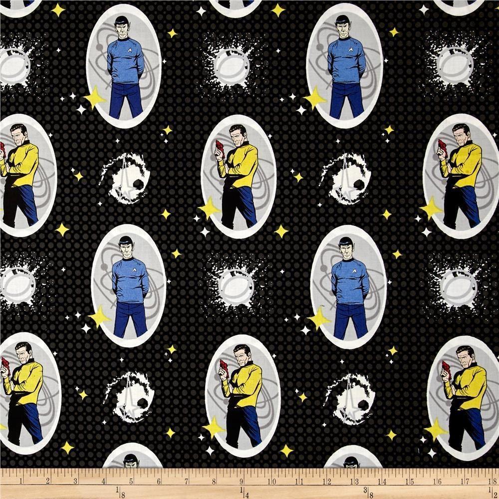 Star trek fabric comics fabric star trek galaxy pop for Galaxy fabric canada