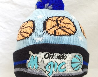kids orlando magic pom beanie youth OSFA