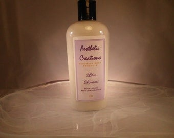 Lilac Dreams Body Lotion With Natural Butters