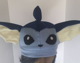 Vaporeon Fleece Cosplay Pokemon Hat