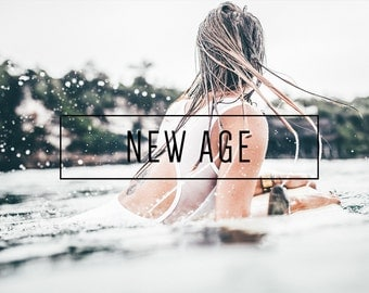 New Age Indie Muse Collection 3 Presets  4 Tool Presets 9 LR Brushes Lightroom Presets for Professional Results by LouMarksPhoto