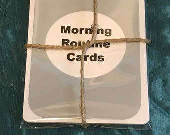 Childrens Routine Cards *Perfect Learning*