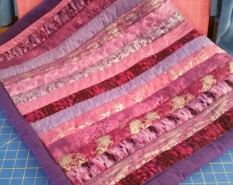 Baby Blanket made from jelly roll