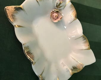 Rose and Gold Trinket Dish