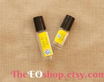 Detox & Restore Roller Blend of Essential Oils for Healthy Organ, Liver, Gallbladder, Kidneys, Lungs, Intestines, Sluggish
