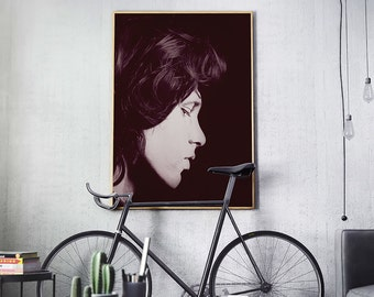 Jim Morrison Print, Jim Morrison Poster, Jim Morrison Art, Jim Morrison Rock Star, The Doors Print, Music Legends Poster - 106
