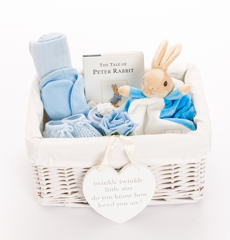 Free Baby Gifts Uk : Peter rabbit baby hamper boy shower