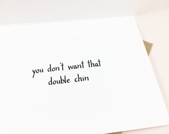 Funny encouragement card to friend/Cheer up card to friend