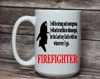 Firefighter Mug, Firefighter Gift, Firefighter Coffee Cup, Gift for Firefighter, Fireman Mug, Gift for Fireman