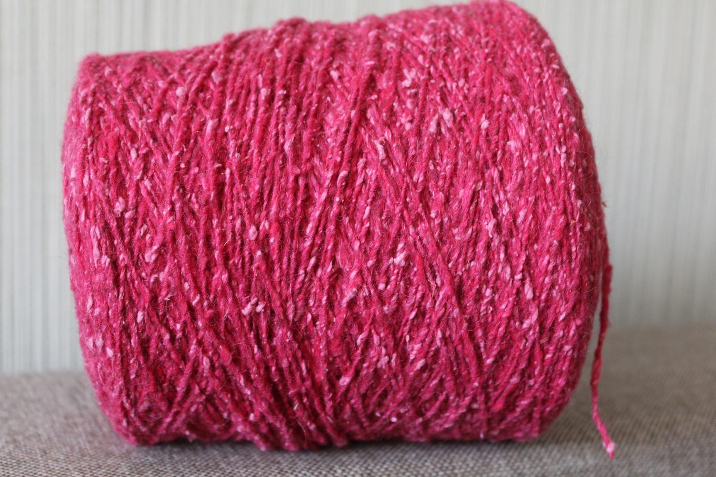 Machine Knitting Yarn Australia : Alpaca angora tweed yarn on cone machine knitting