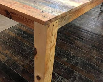 Custom Tables from RECLAIMED and VINTAGE Wood