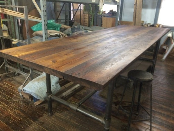 Items Similar To Table Reclaimed Wood Table Communal