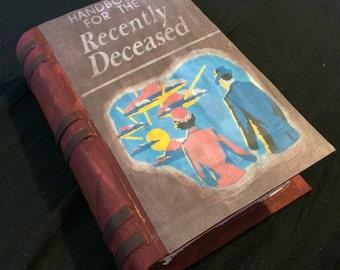 Handbook For the Recently Deceased - Beetlejuice - Custome Designed Keepsake Box
