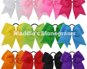 Monogrammed Bows- Cheer Bows