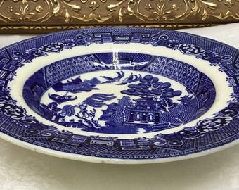 Blue Willow Soup Bowl