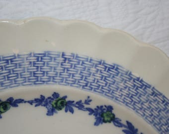 "Copeland Spode ""Blue Belle"" Dinner Plate"