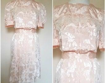 SALE Vintage Edwardian Lace Dress