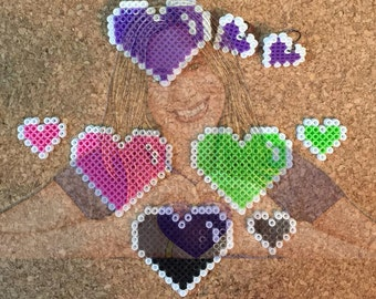 Heart Jewelry - Ear rings and Buttons