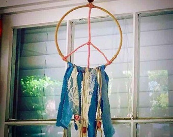 Peace Sign Dreamcatcher