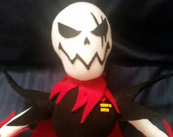 Underfell Papyrus Plush (Made To Order)