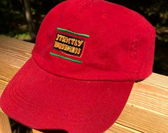 Embroidered Strictly Business Dad Hat