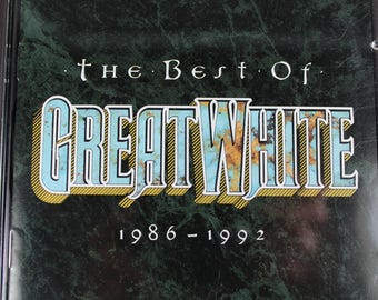 The Best of Great White 1986-1992 - Rock Music CD - 1993 Release - Capitol Records