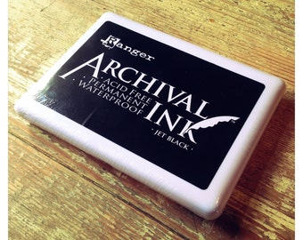Extra large ink pad - black
